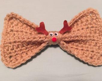reindeer hair bow