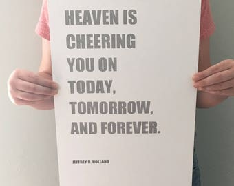 Heaven is cheering you on instant download