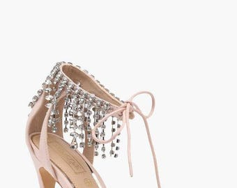 Evelyn Chandelier Ankle Band 2 Part Heel