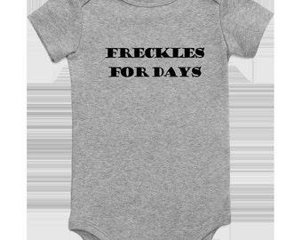 Freckle for Days Onesie