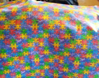 puzzle pieces/Autism awareness