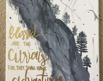 Curious Adventures Canvas