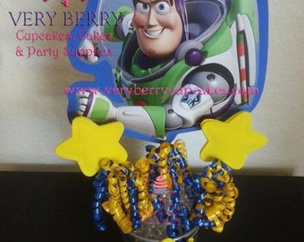 3 Buzz Light Year Centerpieces/3 Toy Story