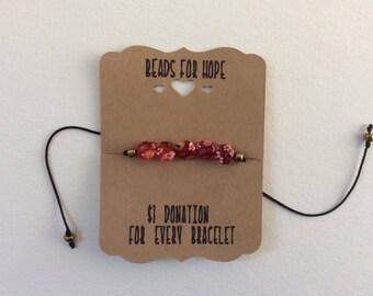 Beads For Hope Bracelet
