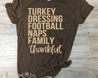 Thanksgiving Shirt, Thankful Shirt, GOLD SHIMMER, Fall Shirt for Women, Thanksgiving Shirt, Fall Tshirt, Fall Shirt, UNISEX Graphic Tee