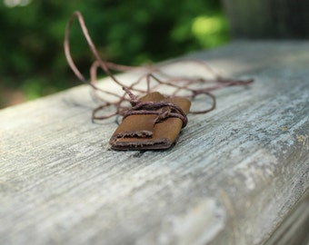 Mini Book Necklace, Mini Journal Necklace, Fairy Journal, Mini Book