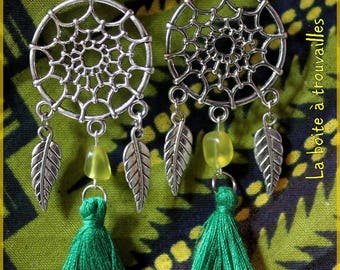 "Earrings ""Tassels dream"""