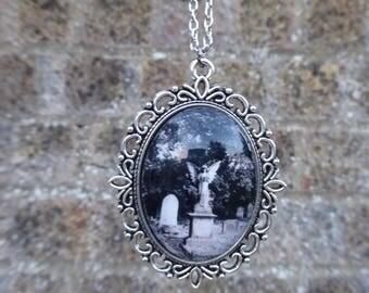 Handmade Cameo Necklace