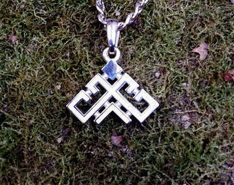 Rozhanitsa Pendant. Slavic jewelry. Slavic talisman. Pagan jewerly. Slavic amulet. Woman jewerly. Woman charm