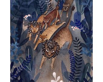Run! - Giclée Art Print