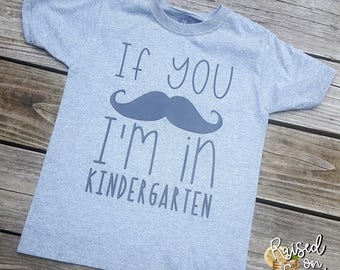 If you MUSTACHE I'm In Shirt - Customize Grade Level