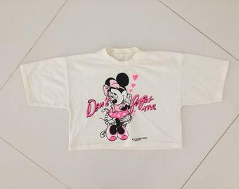 Camisa de sudor suéter de Disney Minnie mouse Vintage 1985 - mujeres tamaño S