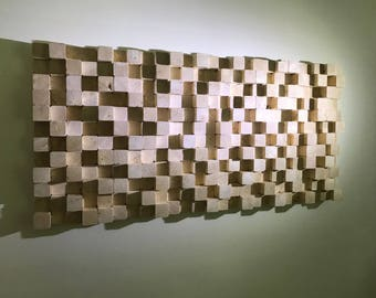 Wall Art Wood-Sound diffuser-Unique art object