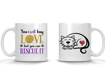 Cat Rescue Mug