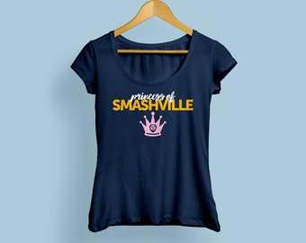Princess of Smashville youth girls babydoll kids tee t-shirt