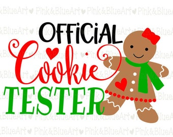 Official Cookie Tester SVG Clipart Cut Files Silhouette Cameo Svg for Cricut and Vinyl File cutting Digital cuts file DXF Png Pdf Eps