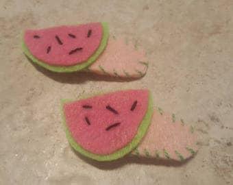 Sweet Watermelon Pink SnapClips