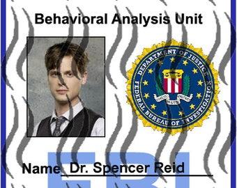 Badge Criminal Minds