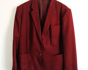 Vintage Custom Linen Blazer
