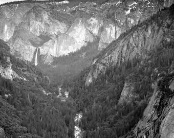 Moonlight Over Yosemite