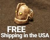 The Iron Giant Lapel Pin - FREE USA SHIPPING - Handmade