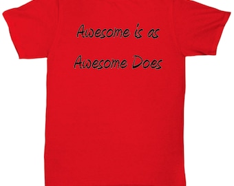 Awesome Red Tee Shirt