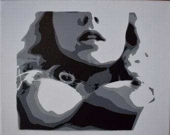 Stencil (Nude)