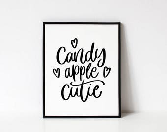 halloween decorations halloween wall decor halloween collection halloween wall prints candy - Halloween Wall Decorations