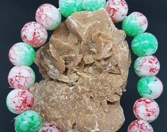 HANDMADE natural stone glass beads fashion Bracelet