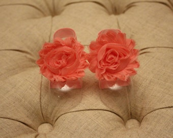 baby shoes, baby girl, girl shoes, baby sandals, pink flower, Catherine Petals
