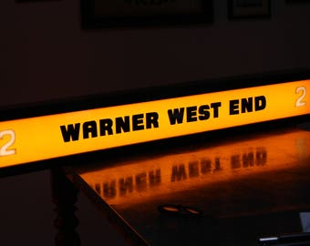 Illuminated Sign Warner West End - Screen 2