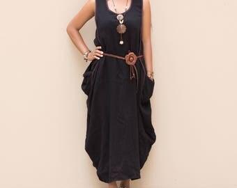 Boho Dress Maxi Dress Ethno Dress Bohemian Dress Gypsy Dress Hippie Dress Tribal Dress Nepali