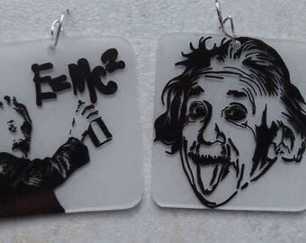 Albert Einstein earrings