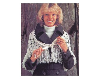 Shell Stitch Shawl Crochet Pattern