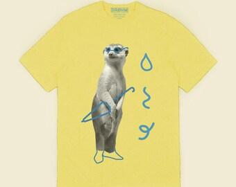 Surification - Yellow T-shirt 100% cotton organic
