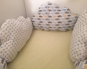 Round shaped cloud baby bed