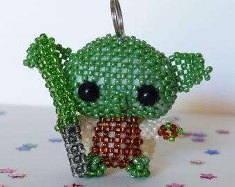 Yoda, bag charm keychain
