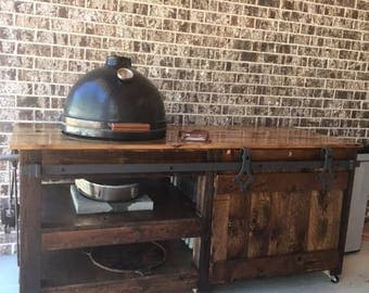 Custom Grill Table