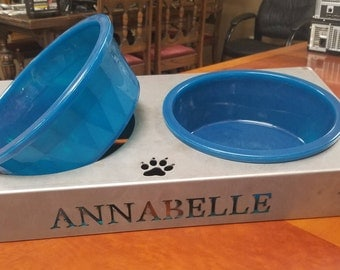 Steel Dog bowl Stand