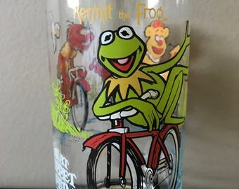 "1981 McDonald's ""The Great Muppet Caper"" Drinking Glass"