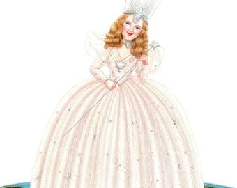 Glinda of Oz Original Colored Pencil Fan Art