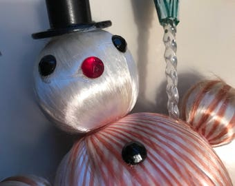 Snowman Vintage Christmas