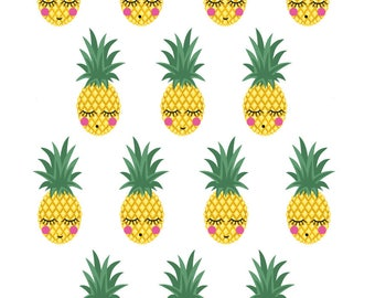 Board decals wall decor kids pineapple ref 03