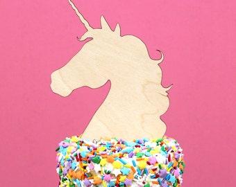 Cake topper Unicorn / Cake Topper / Cake Decoration / Unicorn
