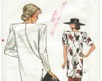 9488 Very Easy Very Vogue - Misses Dress, Tunic, skirt - UNCUT Sewing pattern Sz. 8-10-12 - vintage