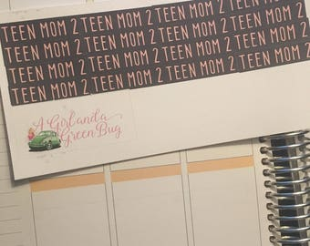 Teen Mom 2 stickers