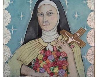 St. Thérèse de Lisieux Icon