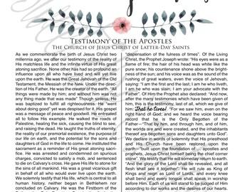 The Living Christ Digital Print, LDS Printable