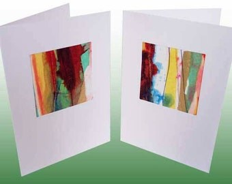 Handmade Abstract Cards