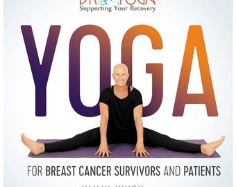 Breast Cancer Gift Yoga Book for Breast Cancer Survivors and Patients